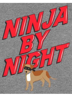 Carter's 2 darabos ninja mintás pizsama szett