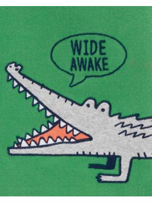 Carter's 2 darabos pizsama szett aligátoros