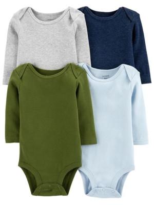 Carter's 4 darabos színes baba body csomag