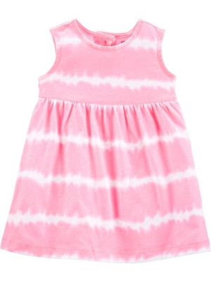Carter's rózsaszín csíkós ruha