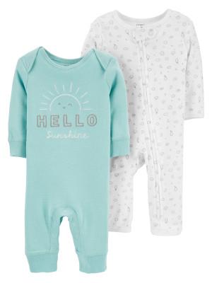 Carter's 2 db-os Napocska mintás pizsama szett