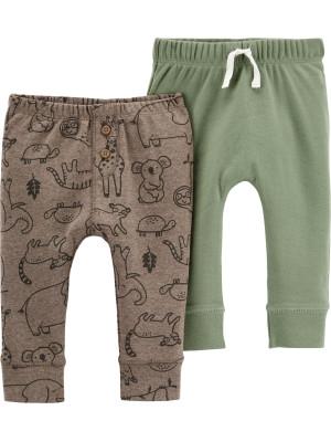 Carter's 2 db-os Állat mintás nadrágok