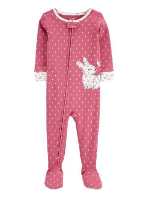 Carter's cipzáros pizsama nyuszis
