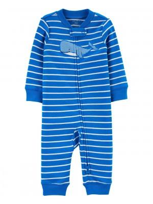Carter's Bálnamintás csíkós pizsama