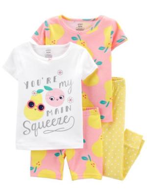 Carter's 2 darabos gyümölcsös pizsama szett