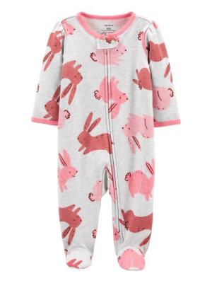 Carter's Cipzáros pizsama nyuzsi mintás