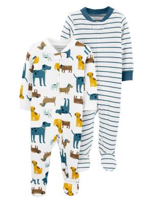 Carter's 2 darabos pizsama kutyás