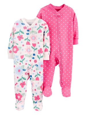 Carter's 2 darabos pizsama virágos