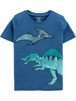 Carter's Kék dinoszaurusz póló