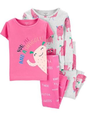Carter's 2 darabos szörnyeteg mintás pizsama szett