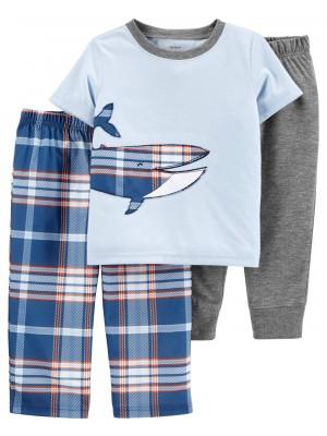 Carter's 3 darabos Bálnamintás pizsama szett