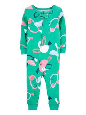 Carter's Kolibri mintás pizsama cipzárral