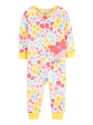 Carter's Pillangó pizsama cipzárral