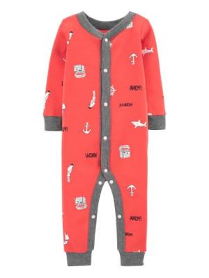 Carter's Horgony mintás pizsama patenttal