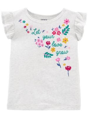 Carter's virágmintás trikó