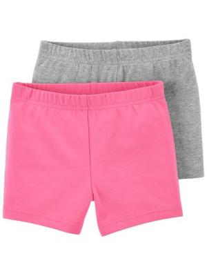 Carter's 2 darabos leggins rózsaszín és szürke szett