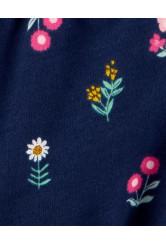Carter's 2 darabos virágos trikó és overál szett