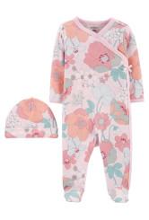 Carter's 2 db-os pizsama és sapka szett