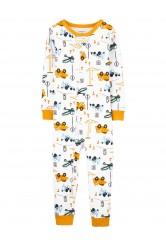 Carter's Épitkezési pizsama cipzárral
