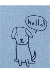 Carter's 3 darabos kutya mintás body csomag
