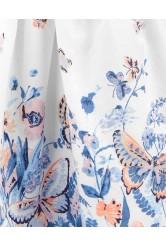 OshKosh Pillangómintás vállpántos ruha