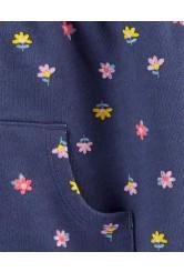 Carter's Virágmintás kapucnis és cipzáros felső