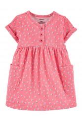 Carter's Rózsaszín zsebes ruha