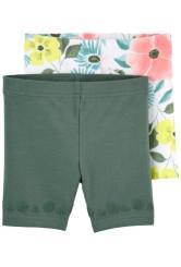 Carter's 2 darabos virágos rövid nadrág szett