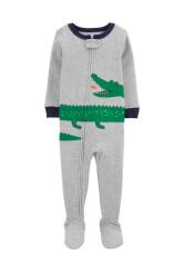 Carter's Aligátoros pizsama cipzárral