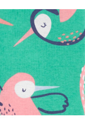 Carter's Kolibris pizsama cipzárral