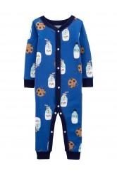 Carter's Sütemény mintás cipzáros pizsama