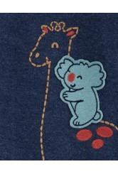 Carter's cipzáros pizsama koala mintás