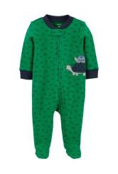 Carter's cipzáros pizsama teknősbéka mintás