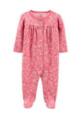 Carter's patentos pizsama virágos