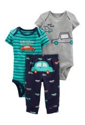 Carter's 3 darabos 2 body és nadrág autós mintás