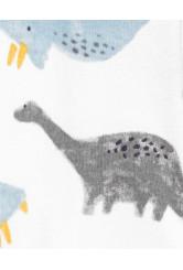 Carter's 2 darabos pizsama és sapka szett dinos