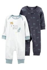 Carter's 2 darabos pizsama szett dinos