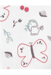 Carter's 2 darabos pizsama szett pillangó