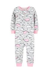 Carter's cipzáros pizsama bálnás