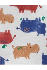 Carter's 2 darabos pizsama szett víziló