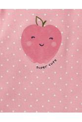 Carter's 5 darabos body szett alma mintás