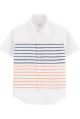 Carter's Csikos fehér ing