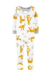 Carter's Leopárdos cipzáros pizsama