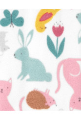 Carter's állat mintás fleece pizsama