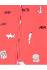 Carter's Cápa mintás cipzáros pizsama