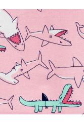 Carter's 2 darabos cápás pizsama szett