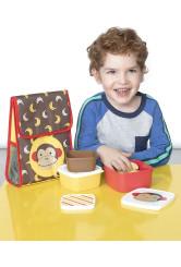 Skip Hop Zoo 3 dobozos készlet ebédre - Majom