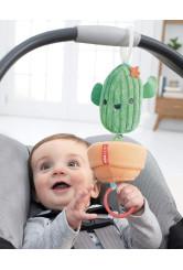 Skip Hop csörgő-zörgő játék babakocsinak - Kaktusz