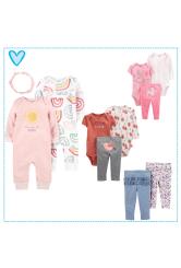 Carter's ajándék szett kislányoknak - 0 hónapos