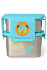 Skip Hop Zoo acél ebédkészlet - Kutya